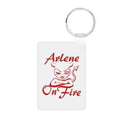 Arlene On Fire Keychains