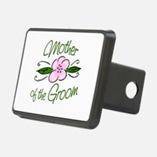 Pink Flower Mother of Groom Hitch Cover
