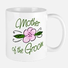 Pink Flower Mother of Groom Mug