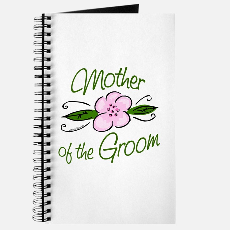 Pink Flower Mother of Groom Journal