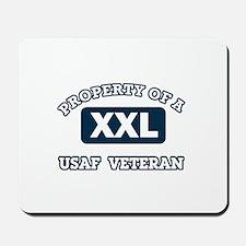 Property of USAF Veteran Mousepad