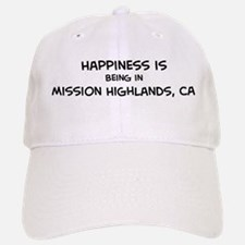 Mission Highlands - Happiness Baseball Baseball Cap