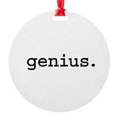 genius.jpg Ornament