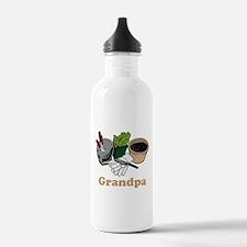 Gardening Grandpa. Water Bottle
