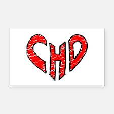 chd 2012 heartwalk Rectangle Car Magnet