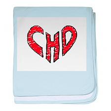 chd 2012 heartwalk baby blanket
