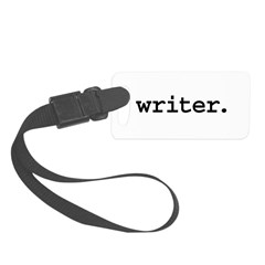 writer.jpg Luggage Tag