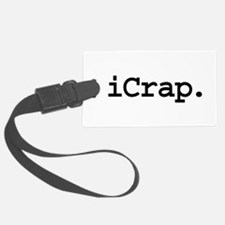 iCrapblk.png Luggage Tag
