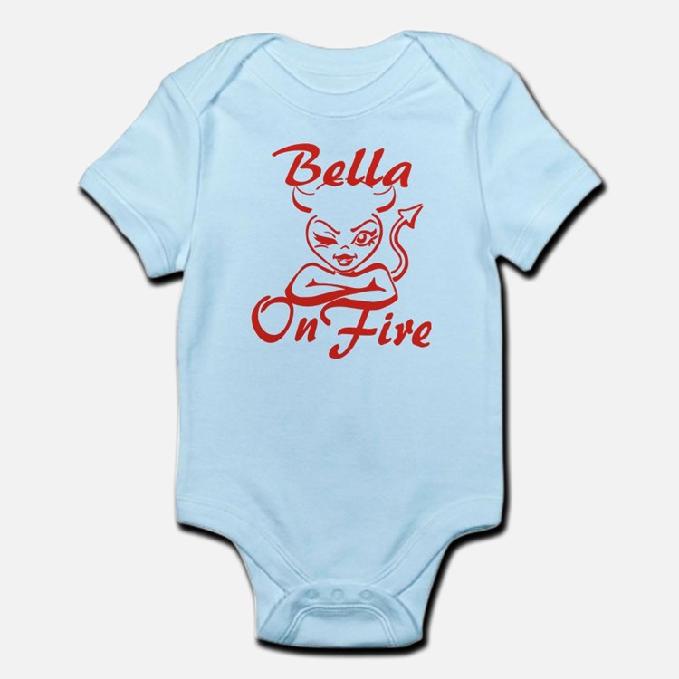Bella On Fire Infant Bodysuit