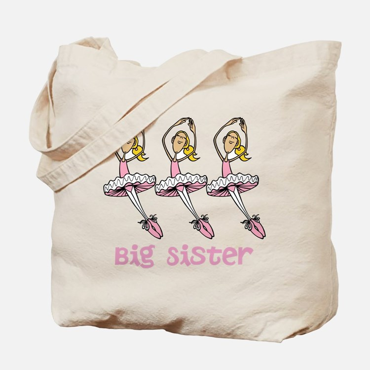 Big Sister, Ballet Dancers. Tote Bag