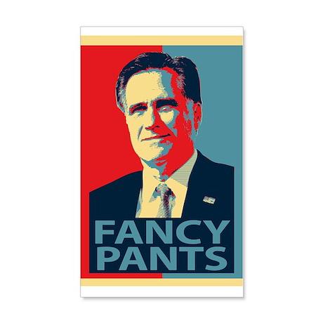 Mitt Romney Fancy Pants 20x12 Wall Decal