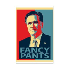 Mitt Romney Fancy Pants Posters