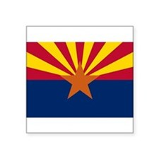"Arizona.png Square Sticker 3"" x 3"""