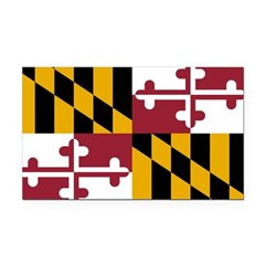 Maryland.png Rectangle Car Magnet