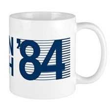 REAGAN BUSH 84 (bumper sticker style) Mug