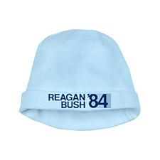 REAGAN BUSH 84 (bumper sticker style) baby hat