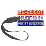 reelectclientno9gov4.png Large Luggage Tag