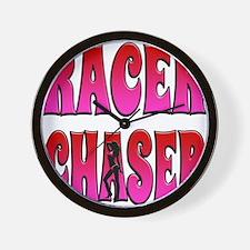 racerchaser2 Wall Clock