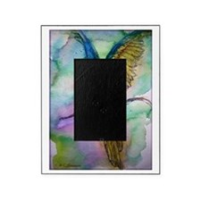 Blue/gold Macaw, parrot art! Picture Frame