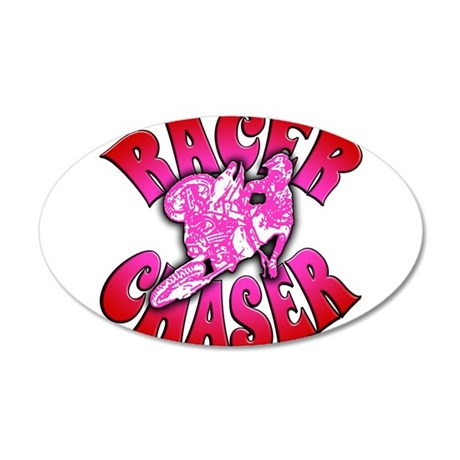 racerchaser4 20x12 Oval Wall Decal