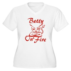 Betty On Fire T-Shirt