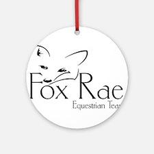 Fox Rae Logo Ornament (Round)