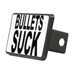 bulletssuck.png Rectangular Hitch Cover