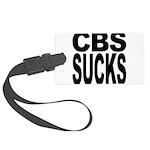 cbssucks.png Large Luggage Tag