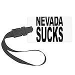 nevadasucks.png Large Luggage Tag