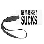 newjerseysucks.png Large Luggage Tag