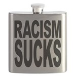 Racism Sucks Flask