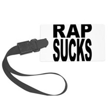 rapsucksblk.png Luggage Tag