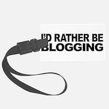 mssidratherbeblogging.png Luggage Tag