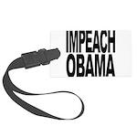 impeachobama.png Large Luggage Tag
