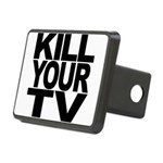 killyourtvblk.png Rectangular Hitch Cover