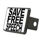 savefreespeechblockblk.png Rectangular Hitch Cover