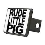 rudelittlepigblk.png Rectangular Hitch Cover