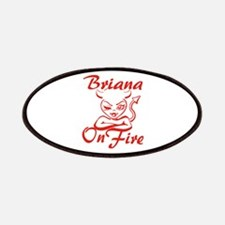 Briana On Fire Patches