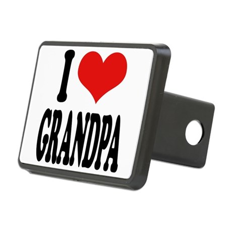 ilovegrandpablk.png Rectangular Hitch Cover