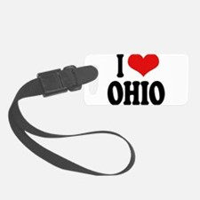 iloveohioblk.png Luggage Tag