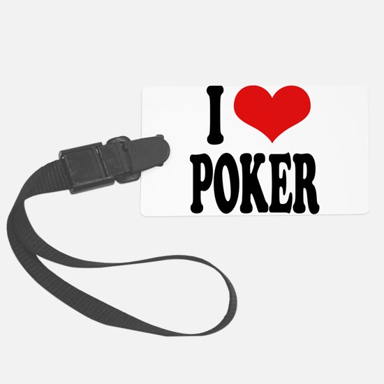 ilovepokerblk.png Luggage Tag