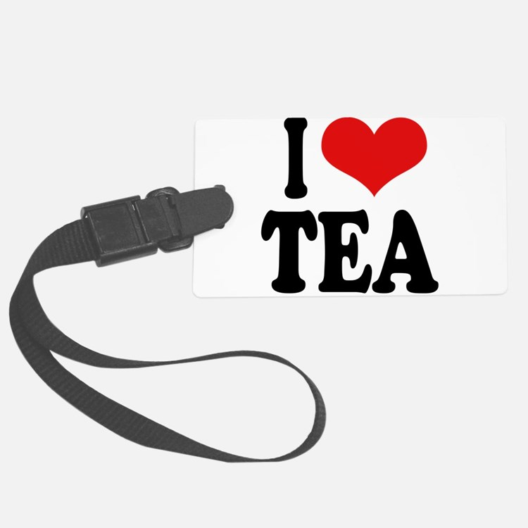 iloveteablk.png Luggage Tag