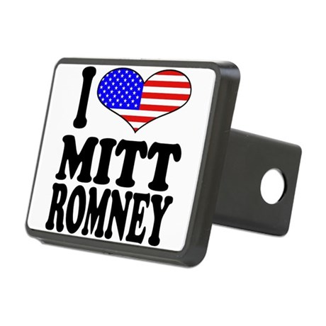 ilovemittromneyblk.png Rectangular Hitch Cover