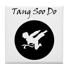 Tang Soo Do Boy Tile Coaster