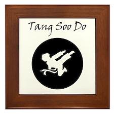 Tang Soo Do Boy Framed Tile