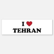 I Love Tehran Bumper Bumper Sticker