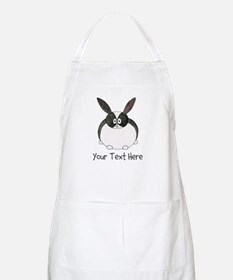 Dutch Rabbit. Custom Text. Apron