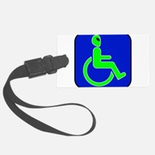 alienhandicappedblk.png Luggage Tag