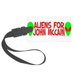 aliensforjohnmccain.png Large Luggage Tag