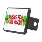 aliensforjohnmccain.png Rectangular Hitch Cover
